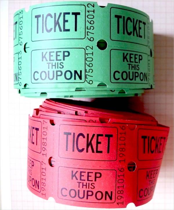 Vintage Carnival Ticket