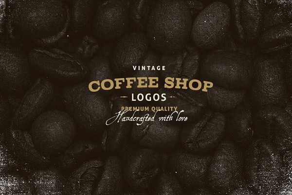 vintage coffee shop logo