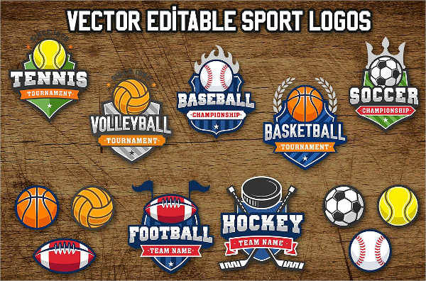 vintage college sports logo