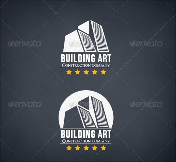 vintage construction company logo