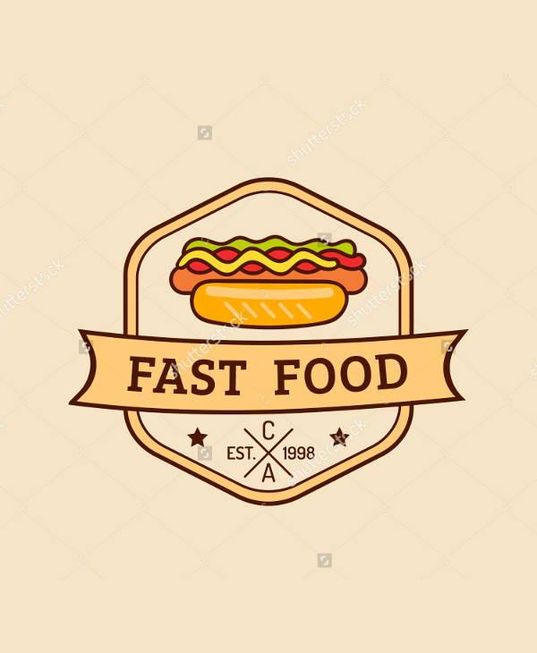 vintage fast food restaurant logo
