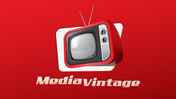 vintage media advertising logo