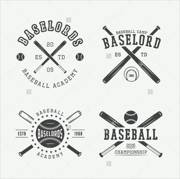 vintage sports team logo