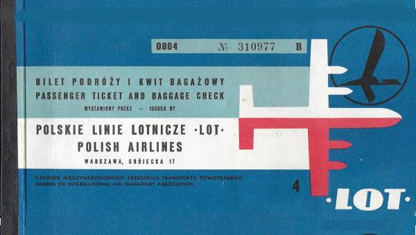 Vintage Travel Ticket Design