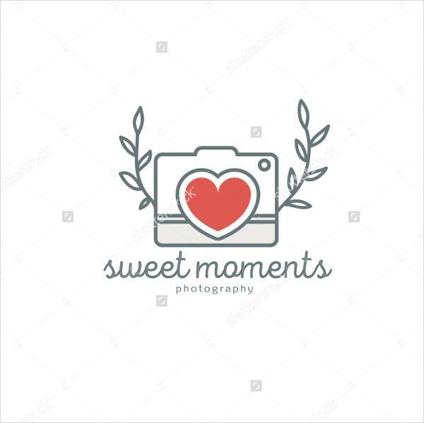 vintage wedding photography logo