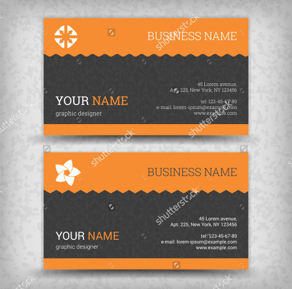 visiting card vector design