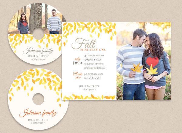 -Wedding CD Label Design