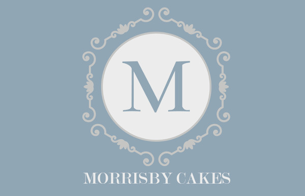 wedding cake company logo