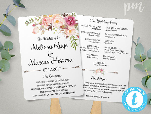 -Wedding Ceremony Invitation