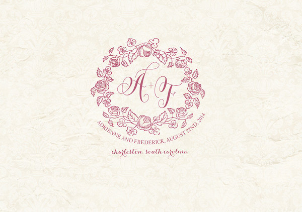 wedding invitation card logo
