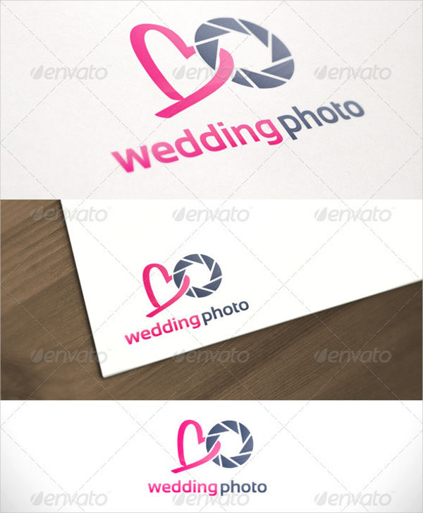 wedding photography service logo