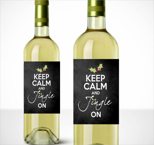wine packaging label