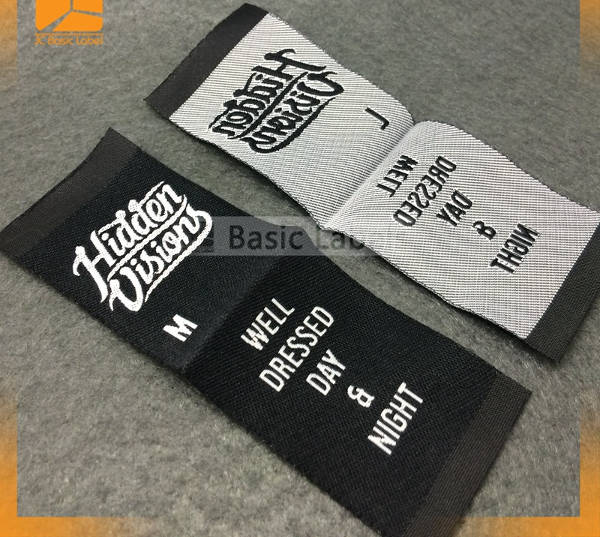 -Woven Clothing Label