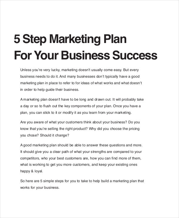 Marketing Business Plan  BesikEightyCo