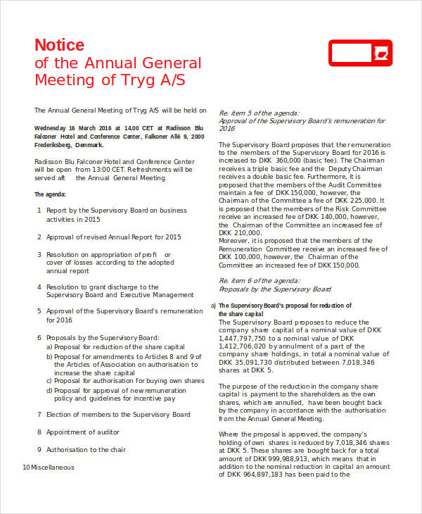 annual general meeting1