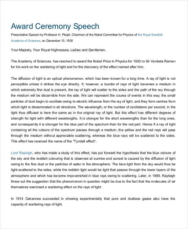 award presentation speech1