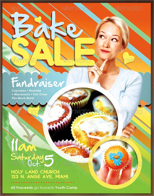 bake sale flyer example