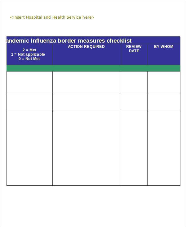 border measures sample
