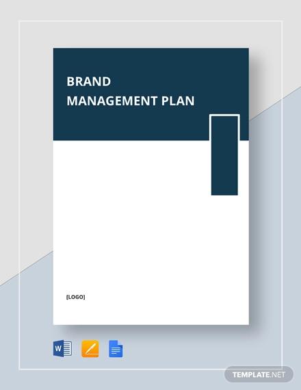 brand management plan