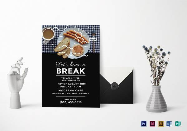 business breakfast invitation example1
