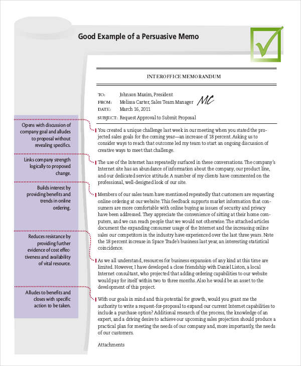 free 24  business memo examples  u0026 samples in pdf