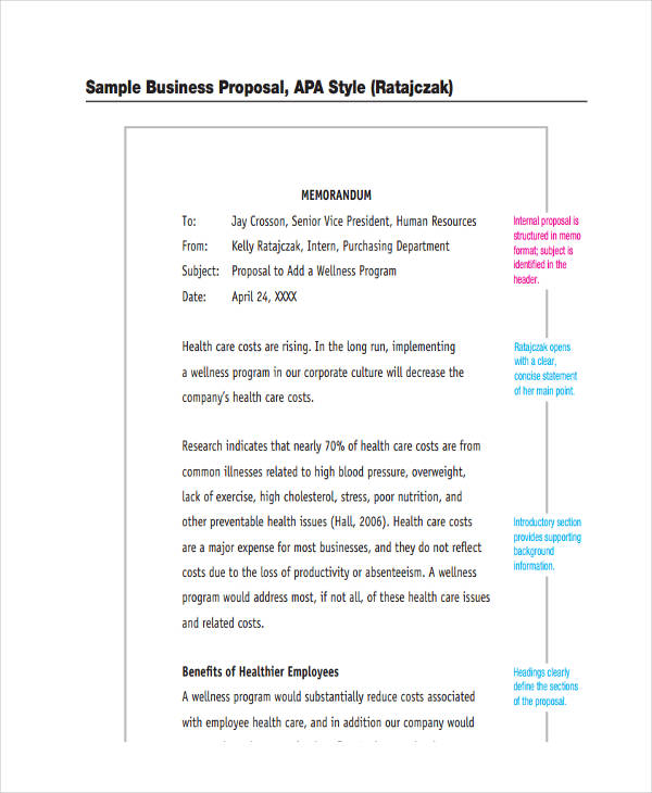 free 12  proposal memo examples  u0026 samples in pdf