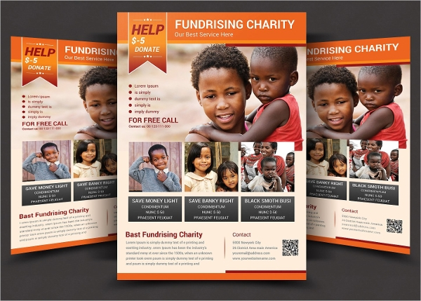 charity flyer sample