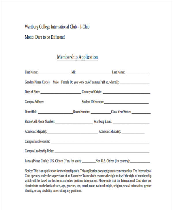 club membership2