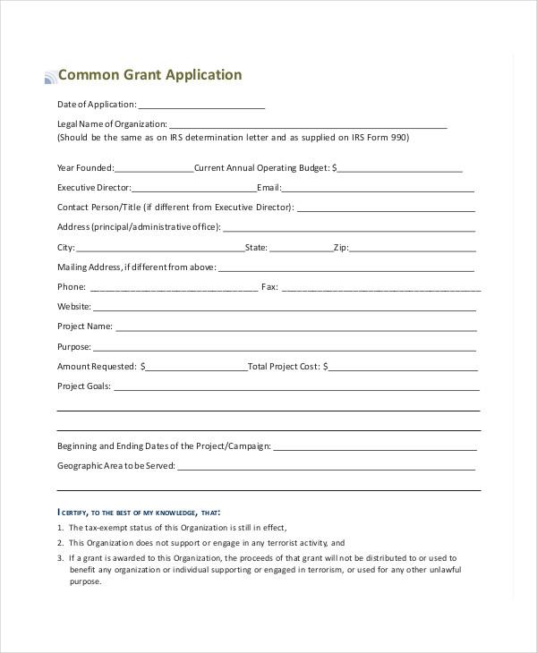 common grant