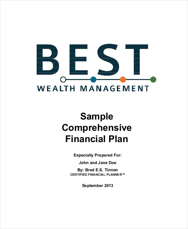 comprehensive financial plan