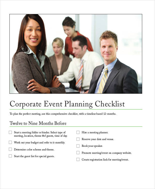 corporate event example