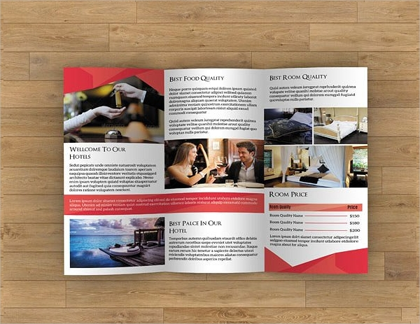 Hotel Brochure Designs  Examples  Psd Ai Vector Eps