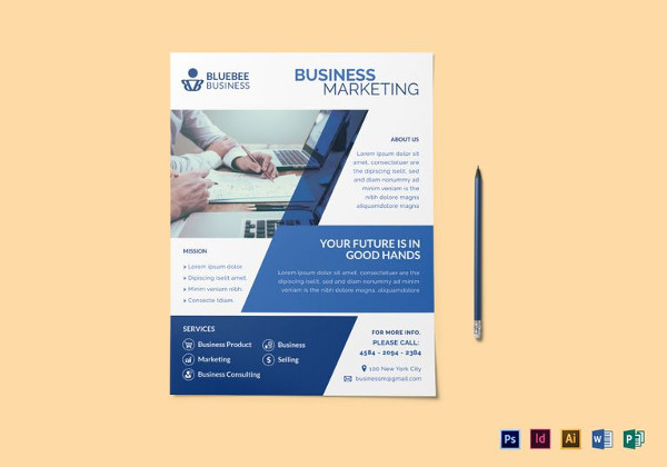 creative business marketing flyer template