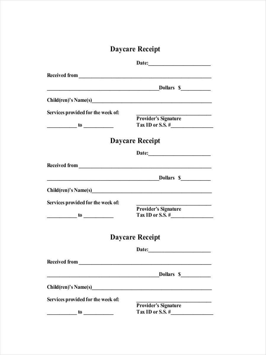 Daycare-Payment-Receipt Tax Letter Template For Child Care on daily schedule, tear off flyer, payment letter, general information for, action plan, center checklist, provider contract, training certificate, wordpress free, free downloadable, lesson plan,