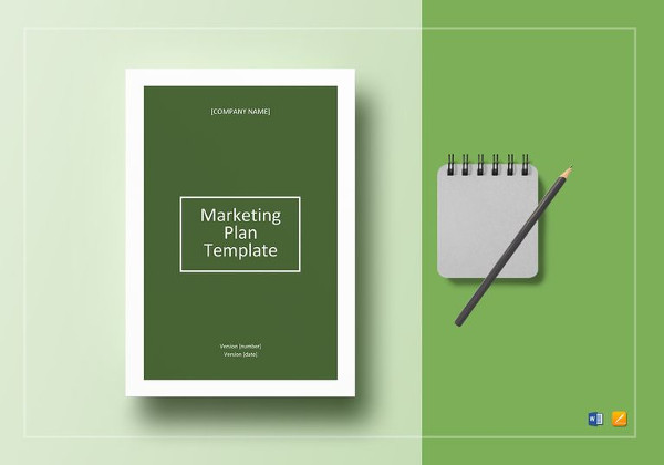 editable marketing plan template
