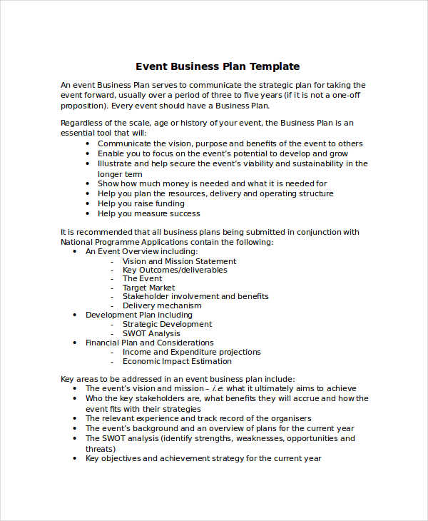 event business plan1