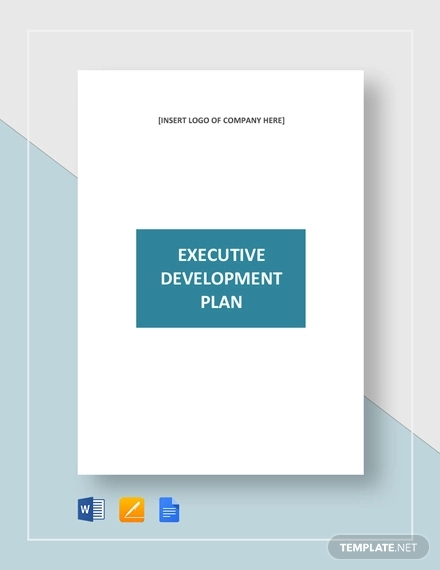 executive development plan