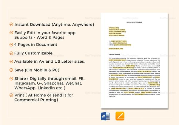 15+ Meeting Memo Examples & Samples - PDF, DOC