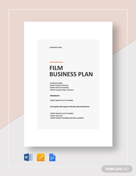Free 29 Free Business Plan Examples In Pdf Word Pages