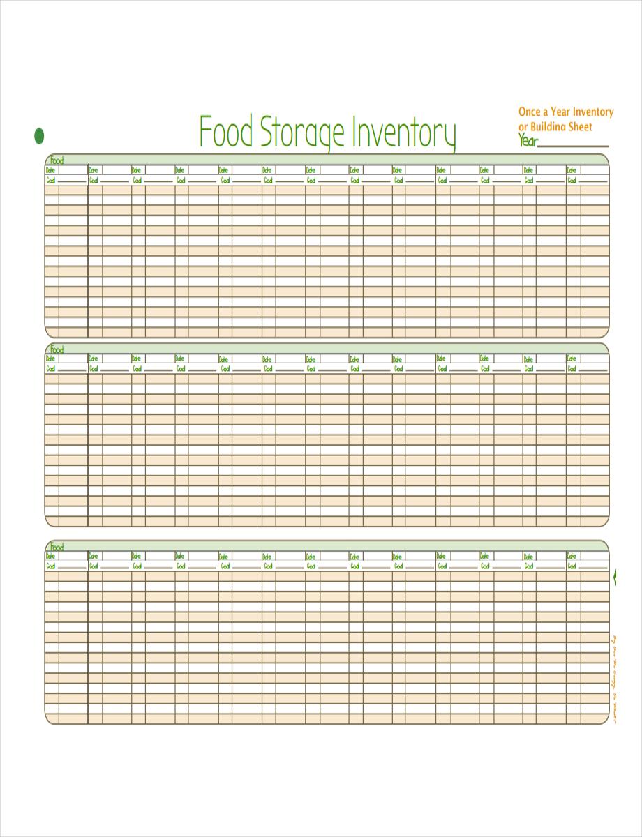 food storage inventory1