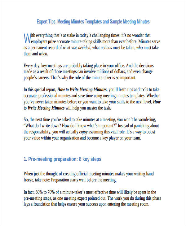 writing minutes for meetings thevillas co