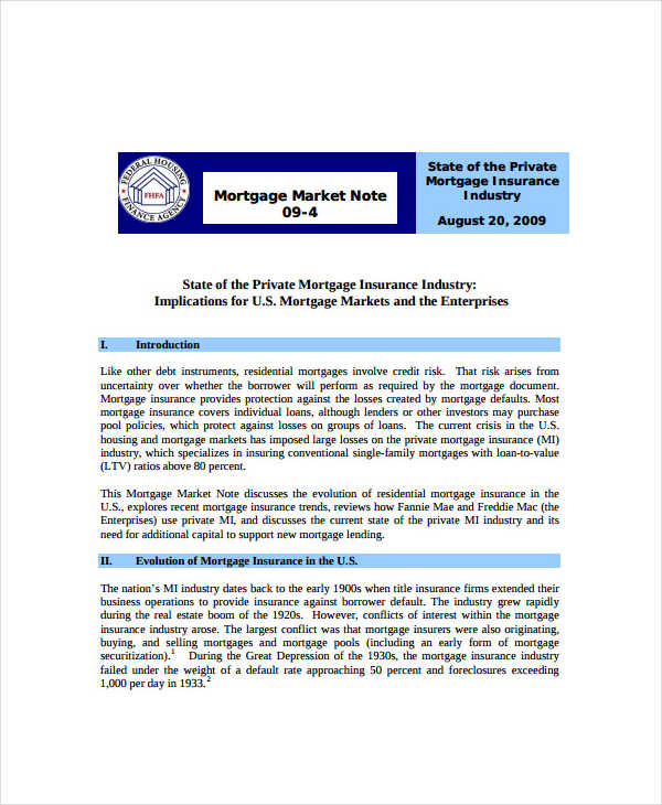 6+ Mortgage Note Examples, Samples