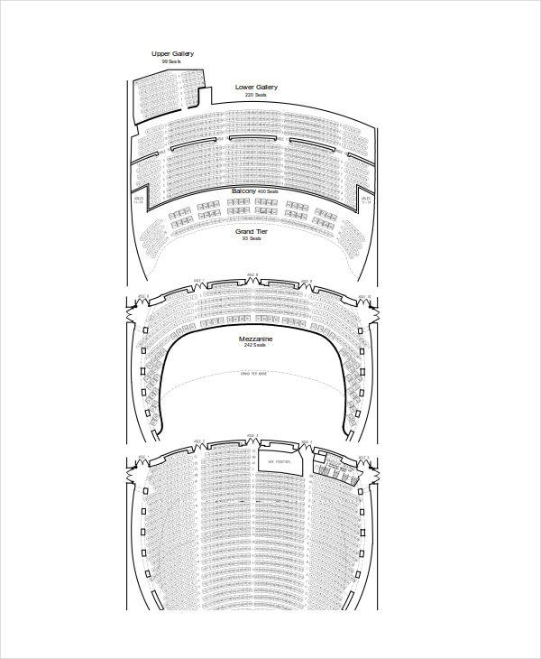 full seating chart