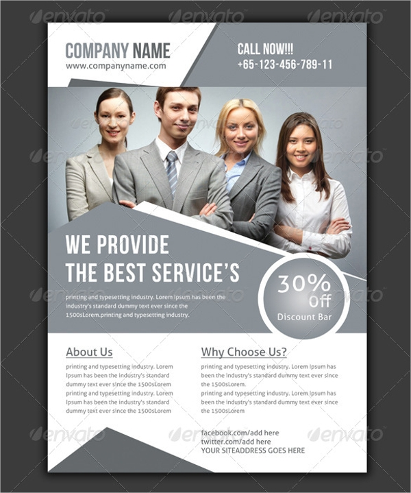 Marketing Flyer Designs  Examples  Psd Ai Vector Eps