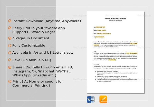 12 internal memo examples samples internal memo template to edit altavistaventures Image collections