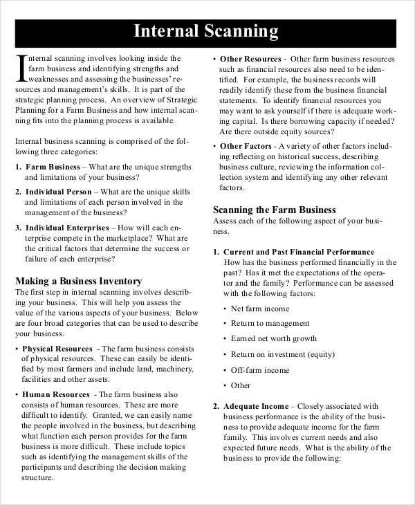internal checking organizational test essay