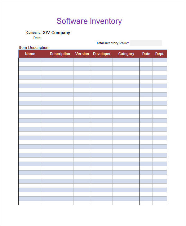 inventory for small business