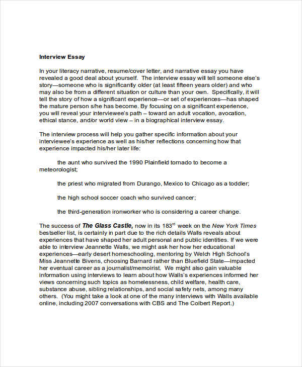 special education interview essay Special education essays this article deals with the topic of special education and the things that are associated with special education the main qualification of a special education student is a 16 point discrepancy between an ability test (iq) and achievement test the article mentions that st.
