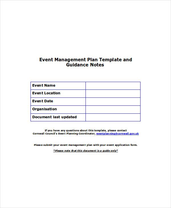 management plan1