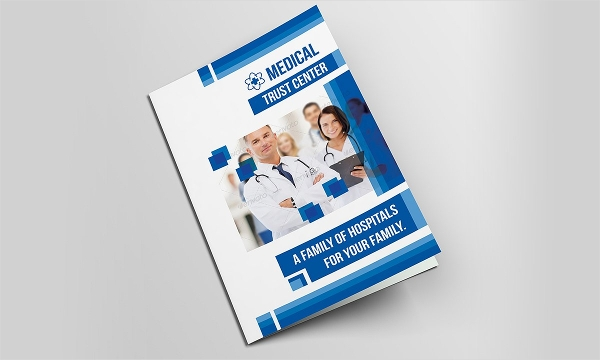 medical bifold design